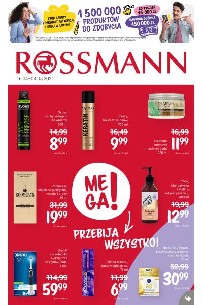 Gazetka Rossmann ważna do 2021-05-04