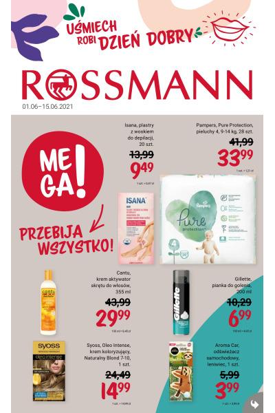 Gazetka Rossmann ważna do 2021-06-15
