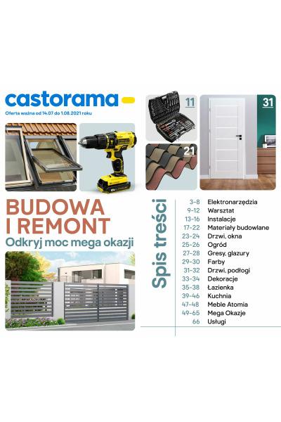 Gazetka Castorama ważna do 2021-08-01