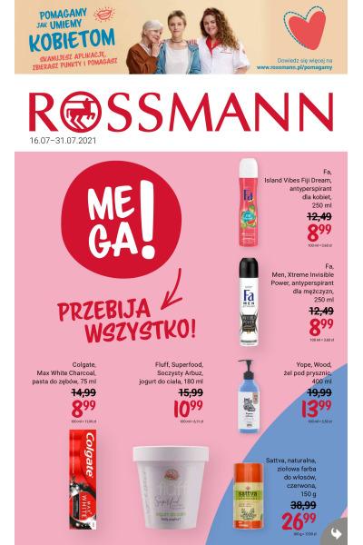 Gazetka Rossmann ważna do 2021-07-31