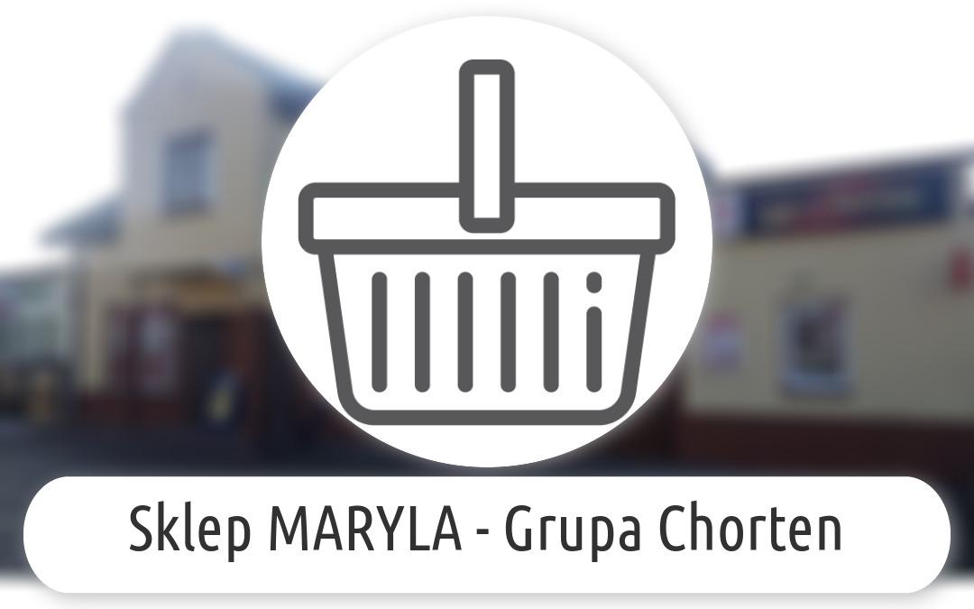 Sklep MARYLA - Grupa Chorten